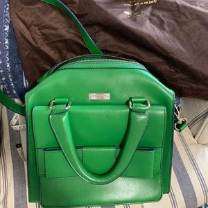Adorable Kelly Green Kate Spade Bag